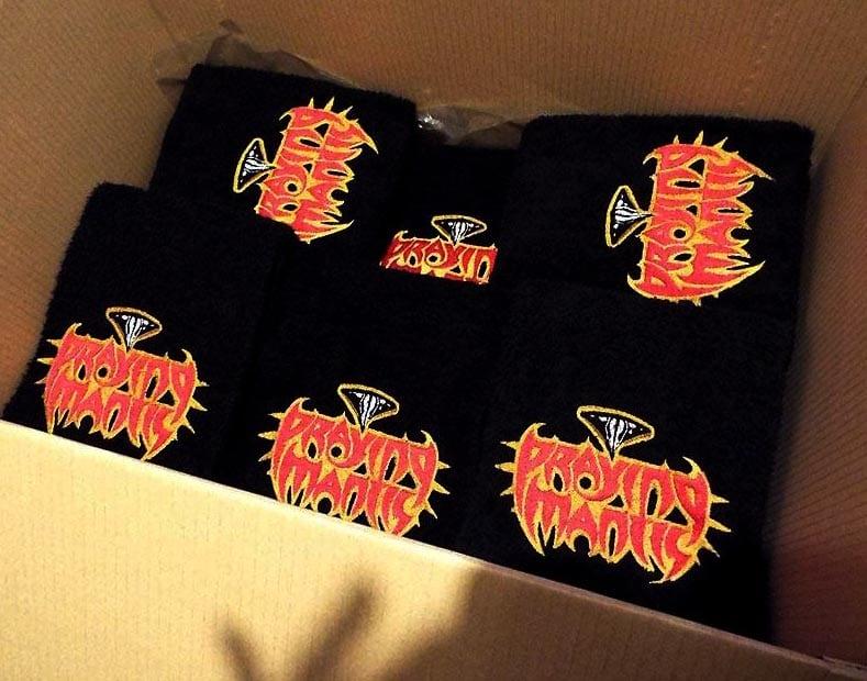 Bandmerchandise - Handdoeken voor band